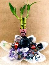 Black Obsidian Buddha Protection Crystals Altar Healing Crystals Positive Energy - $134.00