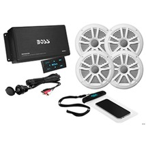 Boss Audio ASK904B.64 4-Channel Bluetooth Amplifier w/4 Speakers - $190.35
