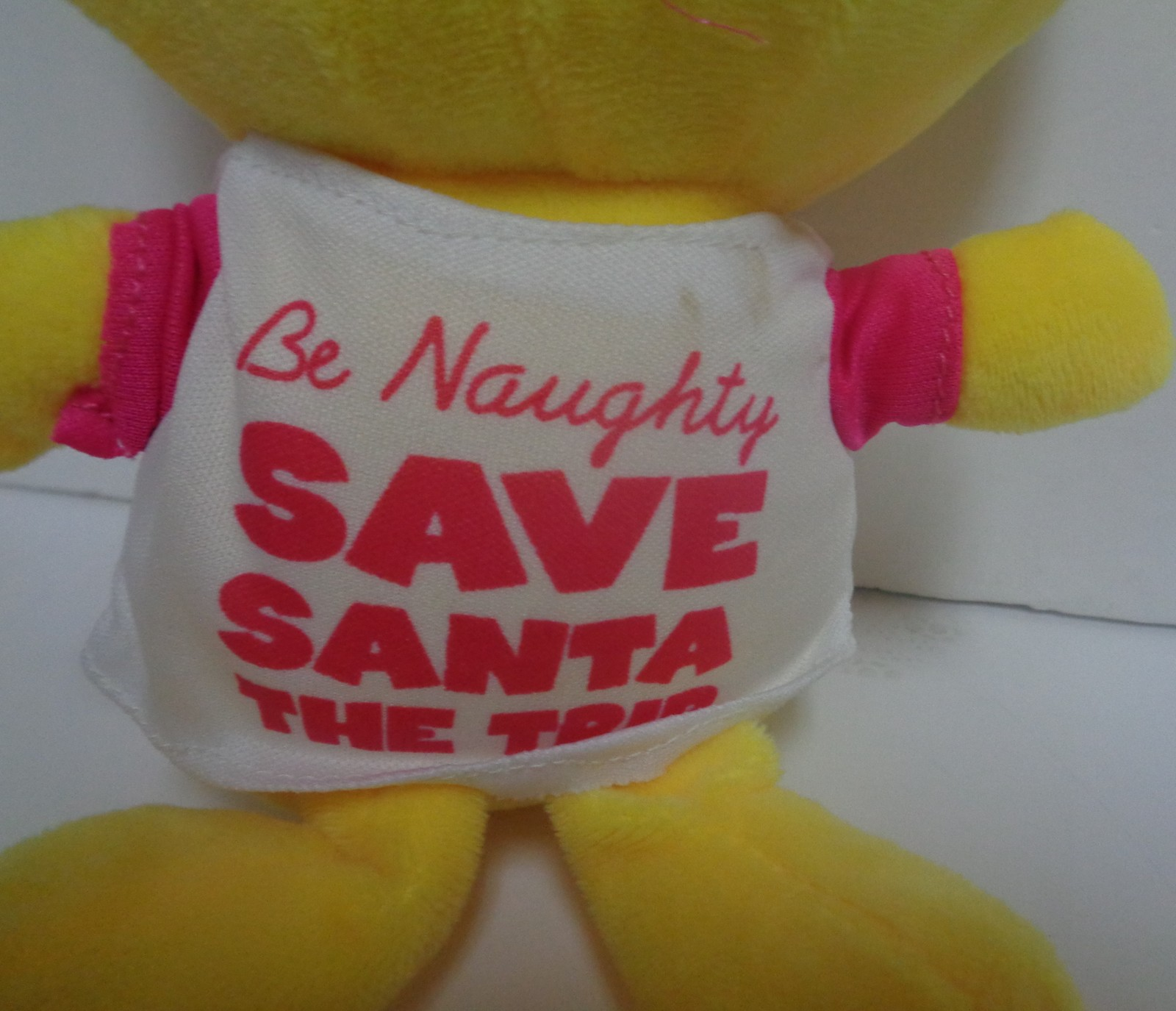 Emojeez Be Naughty Save Santa Plush Doll NWT Holidazed Pals Special Edition