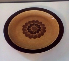 Vintage ANDRE PONCHE Decotone Oven To Table Serving/Dinner Plate USA Made  - $17.77