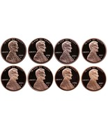 2000-2007 S Complete Set Lincoln Memorial Cent Gem Proof Run 8 Coin Set ... - $16.48