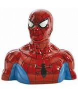 Marvel Comics The Amazing Spider-Man Figure Ceramic Cookie Jar NEW UNUSED - $58.04