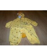Toddler Size 2T Plush Giraffe Halloween Costume Hooded Jumpsuit Yellow EUC - $20.00