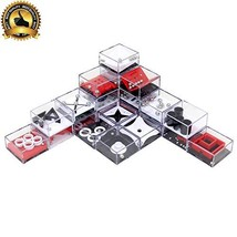 Wekity Party Favors, Brain Game 24PCS Maze Puzzle Box 3D Three-Dimensional Ball