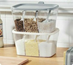1 pcs Plastic folding spice box Spice Rack 3, spice jars with lid and sp... - $15.99
