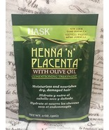 HASK HENNA 'N' PLACENTA WITH OLIVE OIL CONDITIONING TREATMENT 2 oz - $1.38