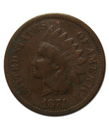 1874 One Cent Indian Head Penny Coin Lot# MZ 3782 - ₨2,188.65 INR