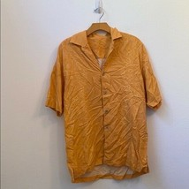 Tommy Bahama medium orange button down shirt - $361.15