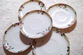 Nippon Hand painted Teacup Saucers - $5.00