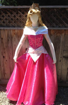 Sleeping Beauty Princess Aurora Dress Park Version Aurora Costume - $135.00