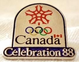 Lapel Pin Canada 1988 Olympics Calgary Alberta Celebration 88 - $15.19