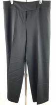 Ann Taylor Loft Petites ANN Casual Career Office Black Pants Size 10P - $10.00