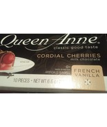 *WORLD'S FINEST QUEEN ANNE CORDIAL CHERRIES Covered in Milk Chocolate (1... - $6.99