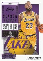 LeBron James 2018-19 Panini Contenders Card #30 - $0.99