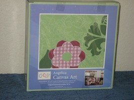 Angelica Canvas Art Cocalo Baby Nursery Decor Floral Set of 3 Wall Hangings - $13.98