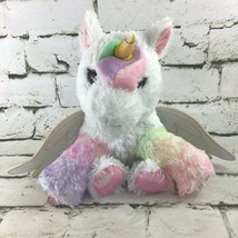 Barbie Dreamtopia Kiss And Care Unicorn Plush Stuffed Toy W/Lights And Sounds  - $14.84