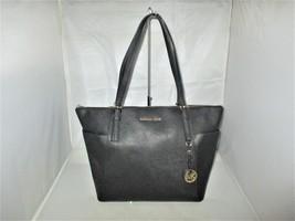 Michael Kors Handbag Jet Set Item Large Leather E / W Top-Zip Tote $268 ... - $129.99