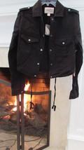 Forever @! Black Drawstring Waist Jacket Sz S Retail $24.90 - $22.77