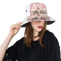 Skull Summer Ice Cream Cone Fashion Fishing Sun Bucket Hats - £20.76 GBP
