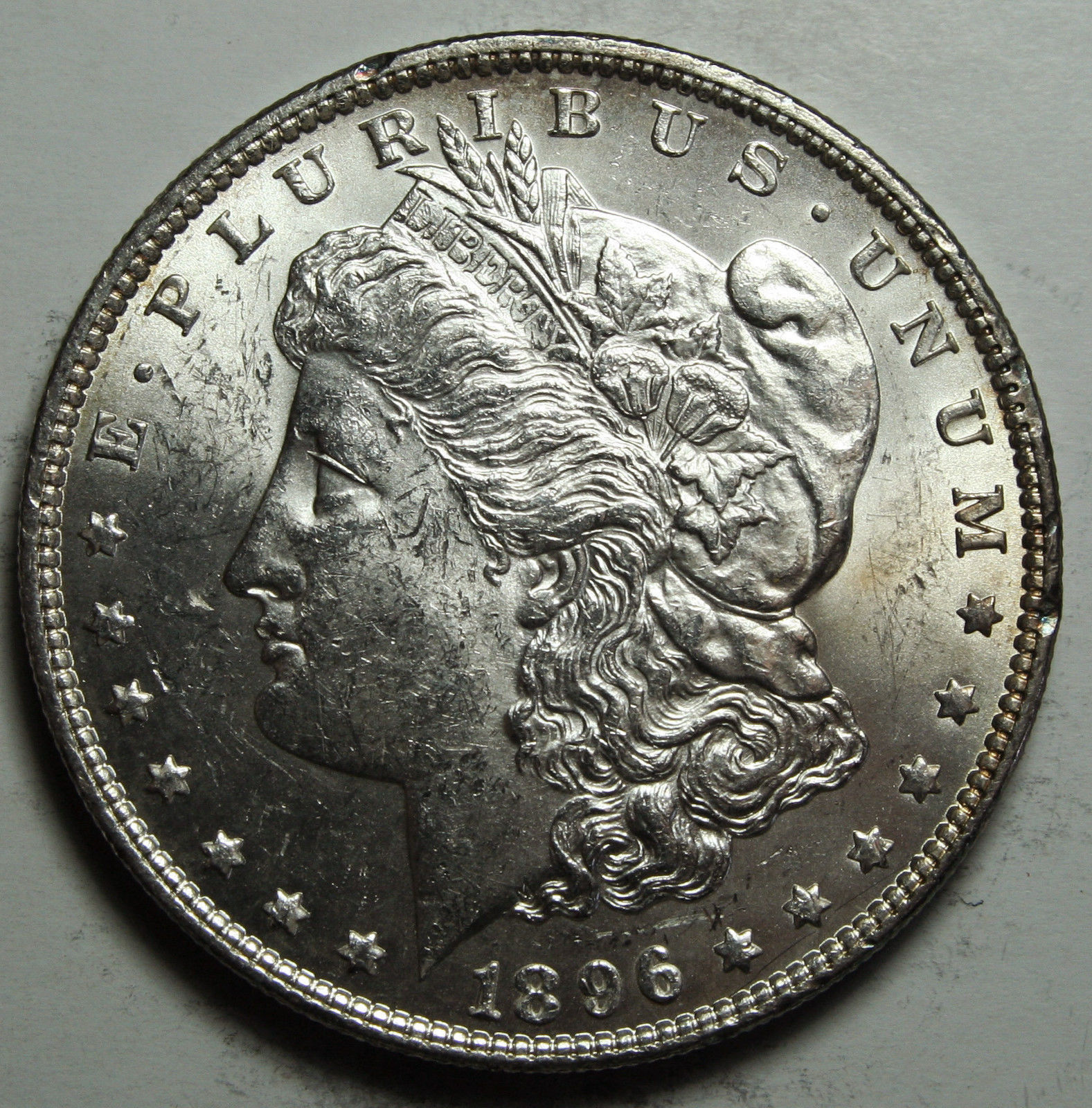 1896 MORGAN SILVER DOLLAR COIN Lot# D 55