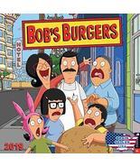 Bob's Burgers 2019 Wall Calendar [New] - $16.32