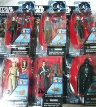 lot Star Wars Rogue One 3.75 Inch Action Figure Set of 6 NIB cake topper... - $34.99