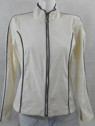 b4e2d8b9e9a Danskin Now White Jacket Zipper Ladies and 29 similar items. 12