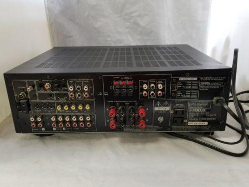 yamaha r v1105 av receiver 5 1ch 85 watts and 49 similar items rh bonanza com