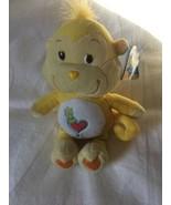 "9"" Care Bear Cousin Playful Heart Monkey Plush Yellow Heart Tummy Party ... - $14.00"