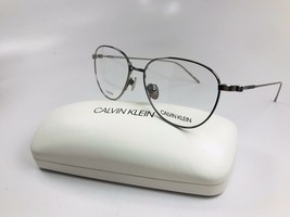 New Calvin Klein CK18118 008 Gunmetal TITANIUM Eyeglasses 52mm with Case - $69.25