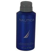NAUTICA BLUE by Nautica Deodorant Spray 5 oz for Men #464300 - $13.18