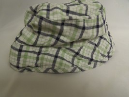 BOYS JANIE & JACK SZ 3/6M PLAID HAT - $3.00