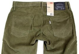 New Levi's Strauss 514 Men's Original Slim Fit Straight Leg Jeans Pants 514-0373