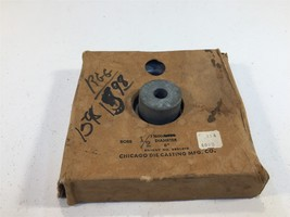 """Vintage Chicago Die Casting Pulley 600-B-1/2 Aluminum Pulley 6"""" 600B12 1... - $29.99"""