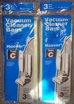 2 Three Packs (6 Bags) - VacMaster Vacuum Cleaner Bags for Hoover Type C - $8.90
