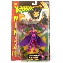 X-Men Ninja Force Deathbird Action Figure 1996 Marvel ToyBiz Sealed VTG - $17.77