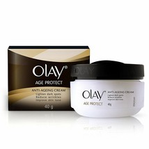 OLAY AGE PROTECT ANTI-AGEING CREAM LIGHTEN DARK SPOT REDUCE WRINKLES - 4... - $15.02