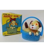 Vintage 1960's Nomura (TN) Japan Wind-up Mohair Covered FRISKY DOG Toy i... - $55.00