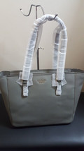 NWT Kate Spade New York Jackson Street Denise Willow Grey Gray Tote Shou... - $197.99