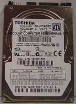 "MK4034GSX Toshiba 40GB 2.5"" HDD2D39 Drive Tested Free USA Ship Our Drive... - $12.69"
