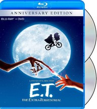 E.T THE EXTRA-TERRESTRIAL [NEW BLU-RAY + DVD] - $14.99
