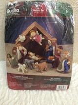 Bucilla Kit-FELT Nativity SET#85263 Christmas/Holiday Decor 2005 - $59.39