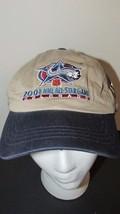 Colorado 2001 NHL Hockey All Star Game Zephyr Hat NWT khaki & blue - $9.89