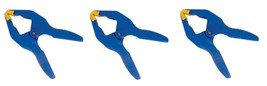3~NEW!! Irwin Quick-Grip 58200 Resin Spring Clamp 2 in. 2 lb. Clamping Strength - $18.36