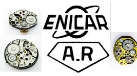 Enicar wristwatch, Pocket Watch  Movement For Parts, Repair Verities - $18.69+
