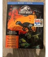 Jurassic World: 5-Movie Collection (Blu-ray + Digital) *SEALED* **FREE S... - $39.00
