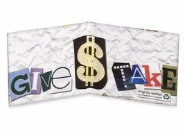 Dynomighty Mighty Wallet Tyvek Stop Shopping White Eco-Friendly Recyclable image 2