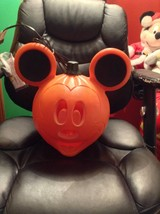 New! Disney mickey mouse pumpkin blow mold yard decor plastic light up - $32.99