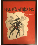 """Ballets Africains""  Keita Fodeba   Souvenir Program  1959   BROADWAY   - $19.80"