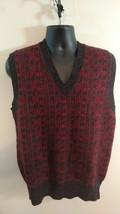 Vintage 80s CHAPS Ralph Lauren Shetland Wool Sweater Vest - Large - $30.68